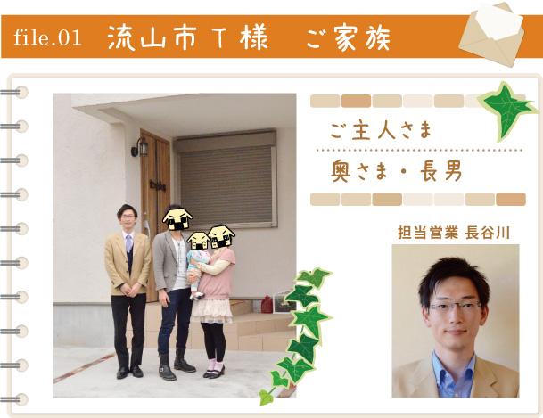 file.01 流山市 T 様 ご家族